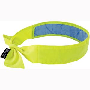 CHILL-ITS® 6700CT EVAP. COOLING BANDANA WCOOLING TOWEL-LIME