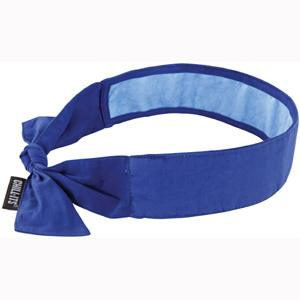 CHILL-ITS® 6700CT EVAP. COOLING BANDANA WCOOLING TOWEL-BLUE