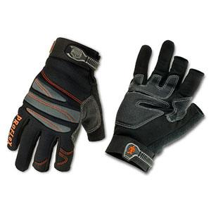 PROFLEX® 720 TRADES WTOUCH CONTROL GLOVES -L- BLK PAIR