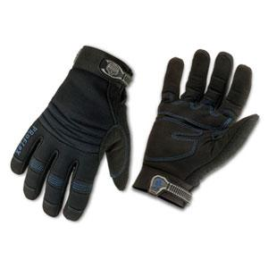 PROFLEX® 817 THERMAL UTILITY GLOVES -M- BLACK PAIR