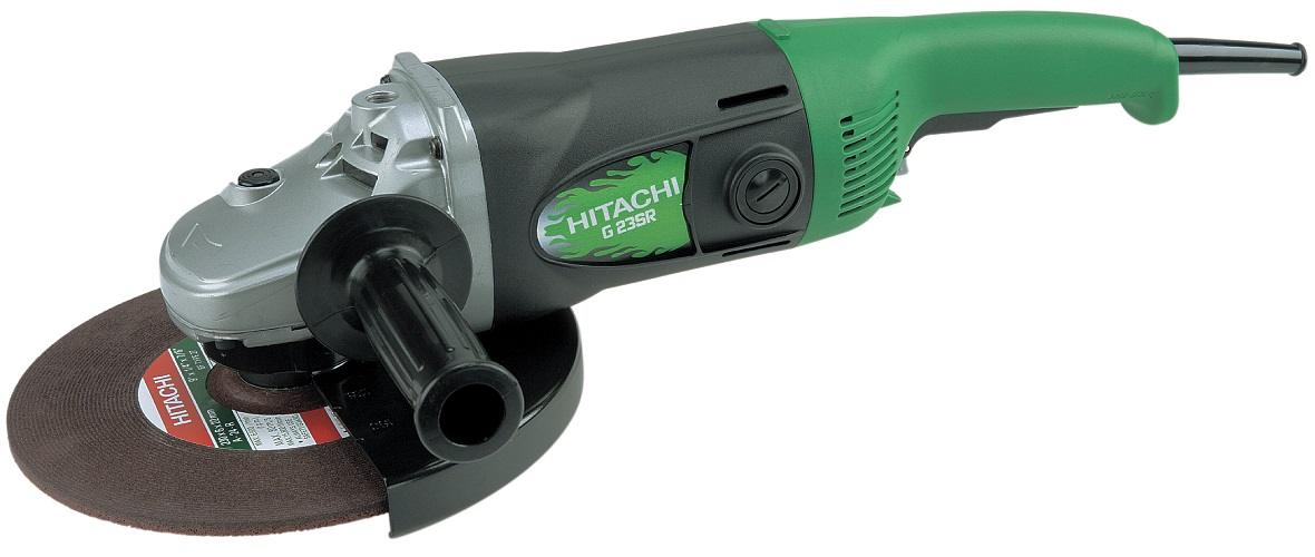 "Hitachi 230mm (9"") Industrial Angle Grinder"