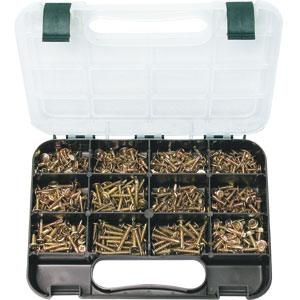 GJ GRAB KIT 460PC SELF-DRILLING SCREWS