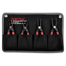 TopTul Circlip plier set, 4pc, heavy duty.