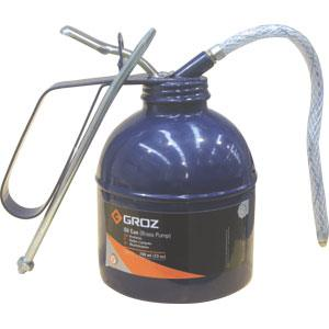GROZ 300ML/10OZ OIL CAN W/ FLEX & RIGID SPOUT