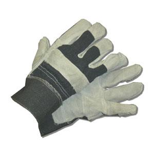 GLOVES PATCH PALM LEATHER PAIR