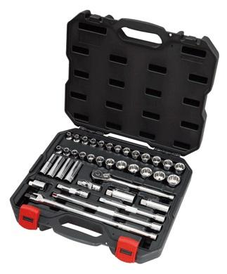 "Powerbuilt Combination Socket Set 3/8"" 39pc"