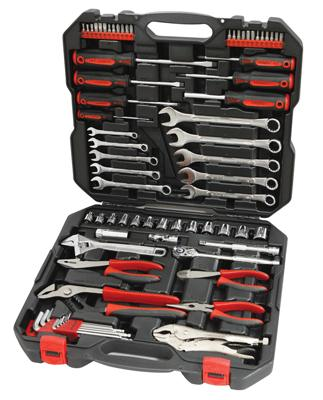 "Powerbuilt Metric Tool Set 74pc 3/8"" drive"