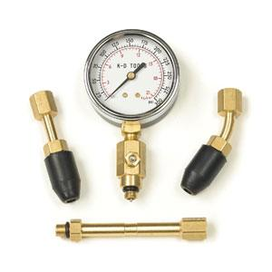 KD 4PC UNIVERSAL COMPRESSION TESTER KIT 10-300PSI