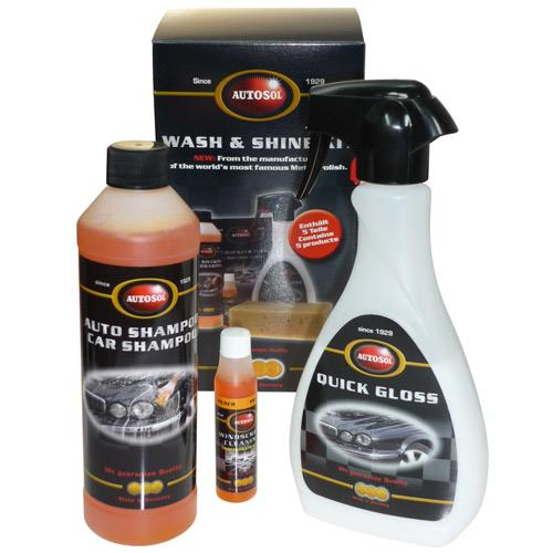 Autosol Wash & Shine Kit