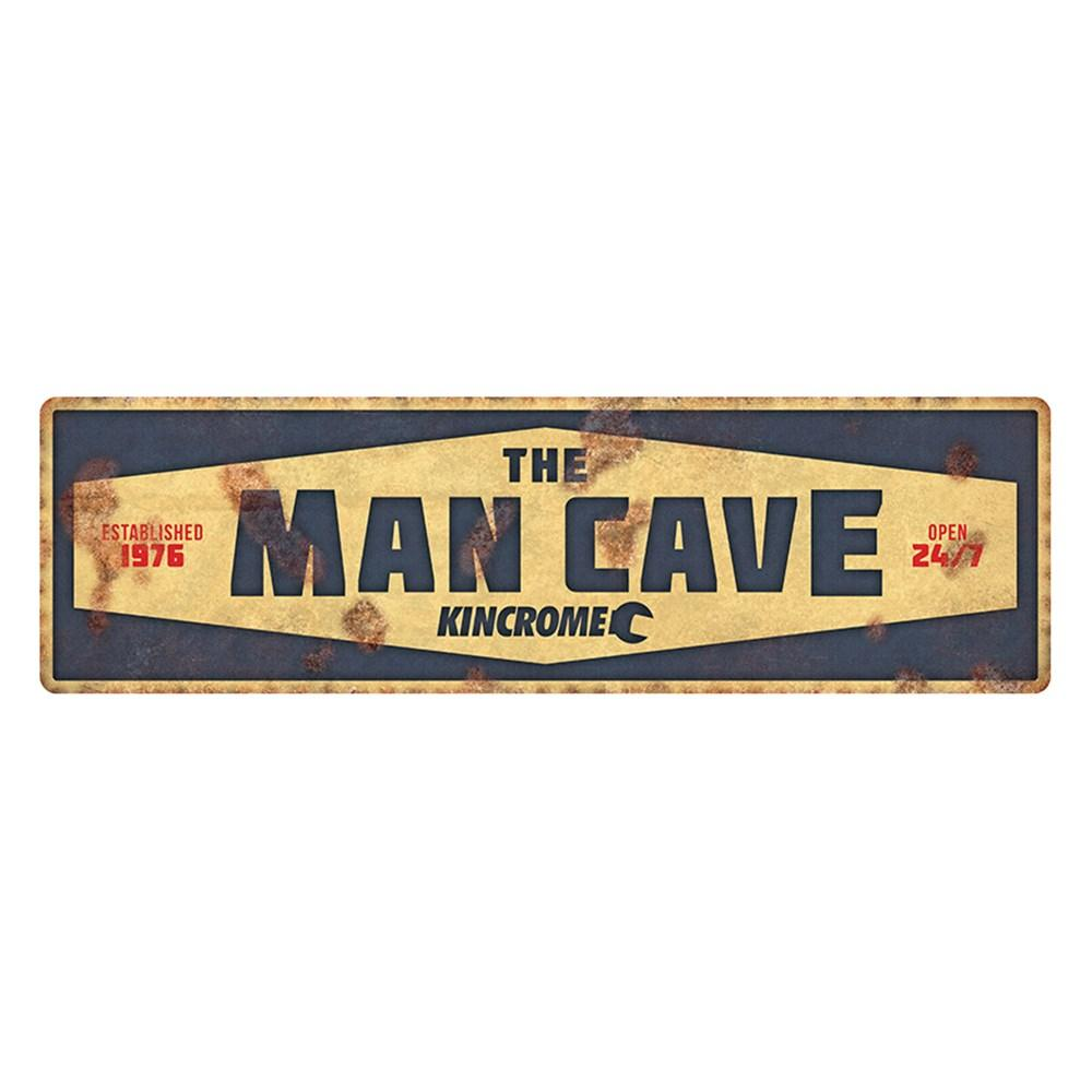 KINCROME SIGN - VINTAGE / RETRO SIGN MAN CAVE