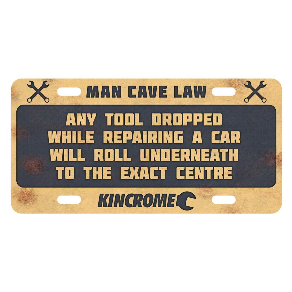 Man Cave Signs Nz : Kincrome vintage sign man cave law