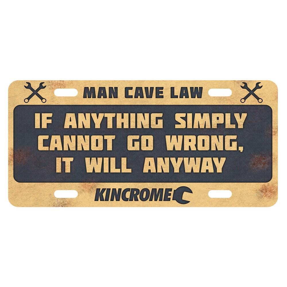 Man Cave Gifts Nz : Kincrome antique sign man cave law
