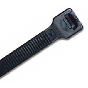 1220 X 9.0MM UV NYLON CABLE TIE - BLACK - 100PK