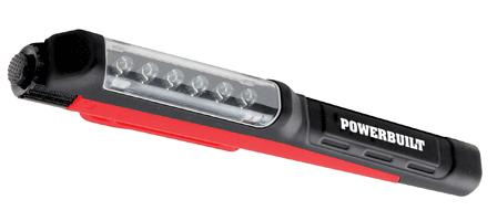 Powerbuilt 6LED Pocket Stick Light