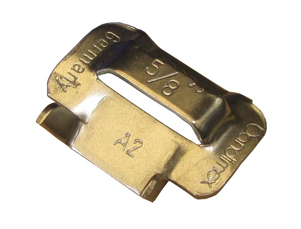 NORMA BUCKLE FOR PLAIN BANDING 12.7mm WIDE S.STEEL