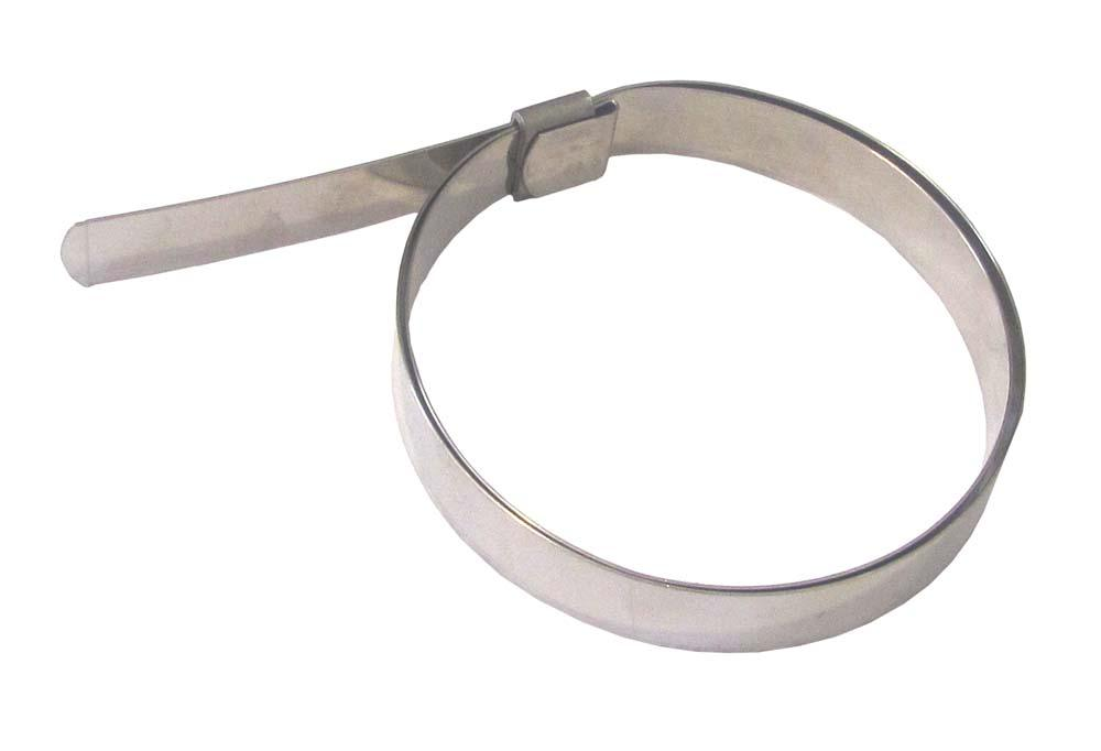 BANDIMEX PRE-FORM CLAMP 12.7 x0.75 x45mm 1.3/4""