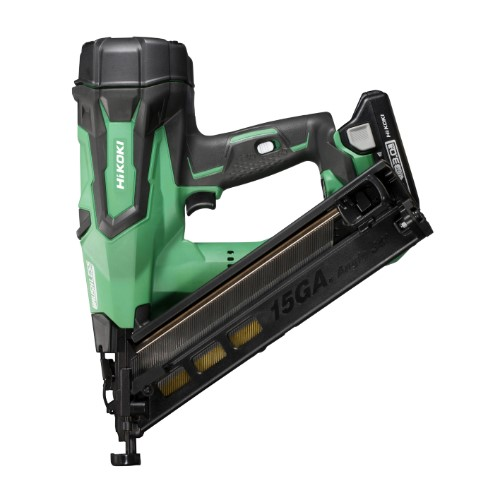 HiKOKI 18V Gasless 15G Angled Brad Nailer 65mm  - 3Ah Kit