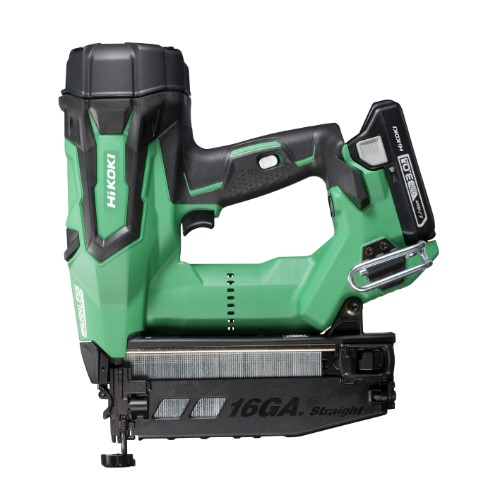 HiKOKI 18V Gasless 16G Straight Brad Nailer 65mm  - 3Ah Kit