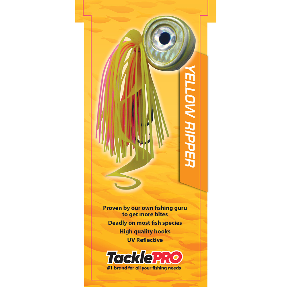 TacklePro Kabura Lure 60G - Yellow Ripper