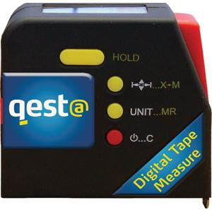 QESTA 5M LCD DIGITAL DISPLAY TAPE MEASURE