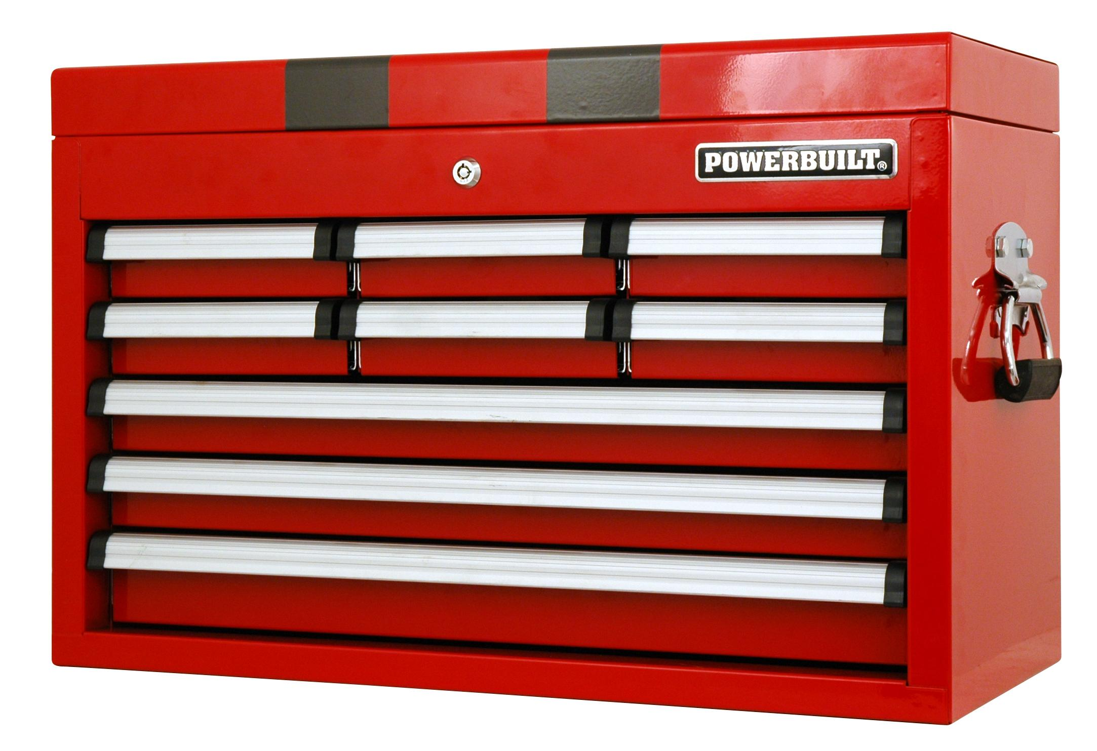 Powerbuilt Tool Chest - Racing Series 9 drawer