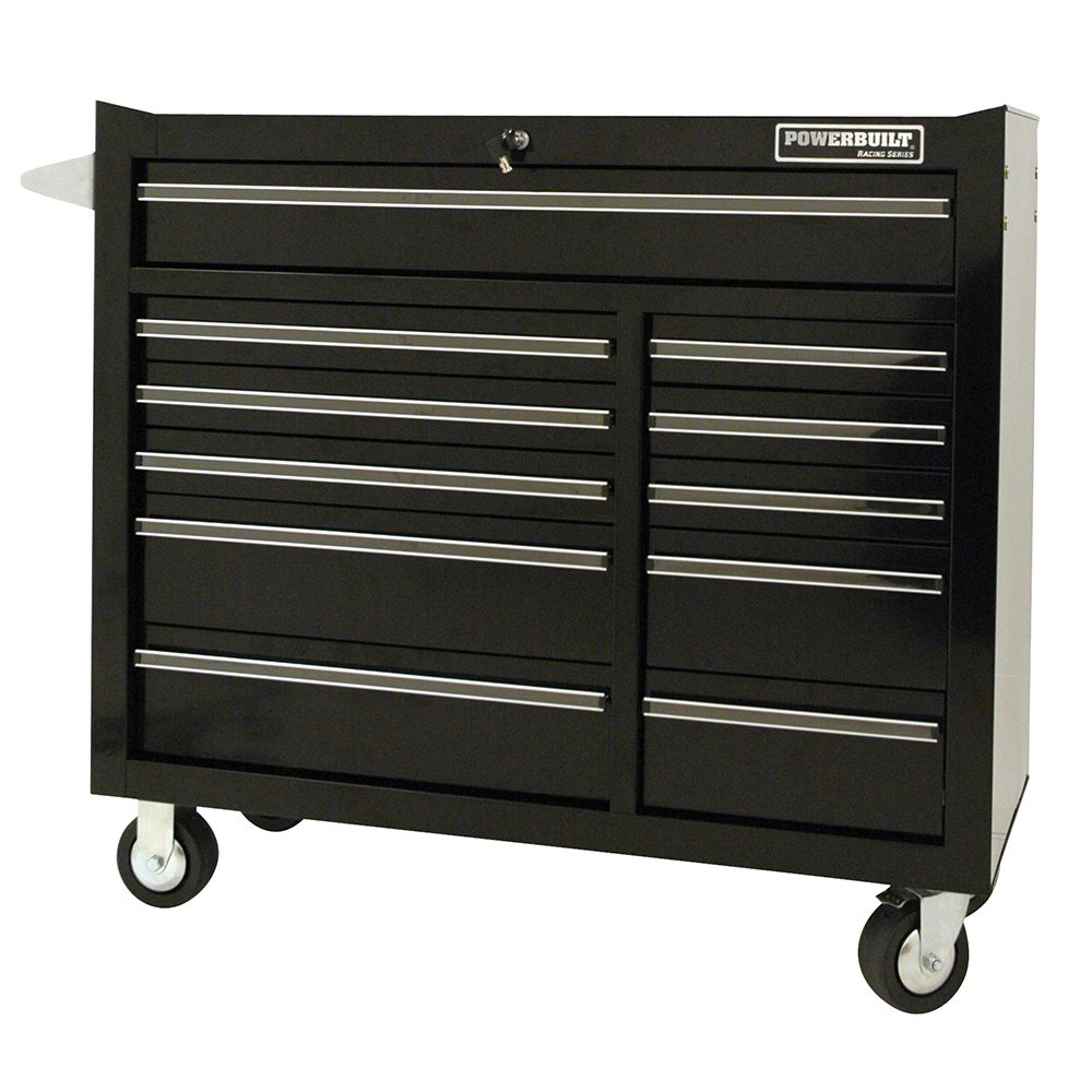 "Powerbuilt 41"" 11 Drawer Roller Cabinet – Racing Series"