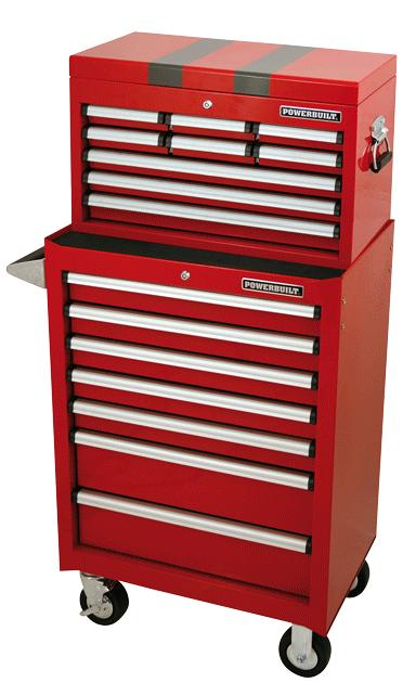 Powerbuilt Tool Chest & Roller Cabinet Combo