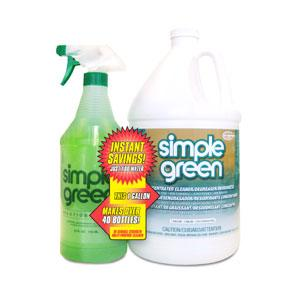 SIMPLE GREEN CONCENTRATE 3.78L W/RTU 946ML