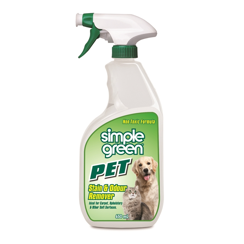 Simple Green Pet Stain and Odour Remover 650ml - Pack of 12