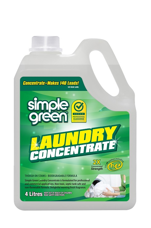 Simple Green Laundry Liquid concentrate 4L - Pack of 4