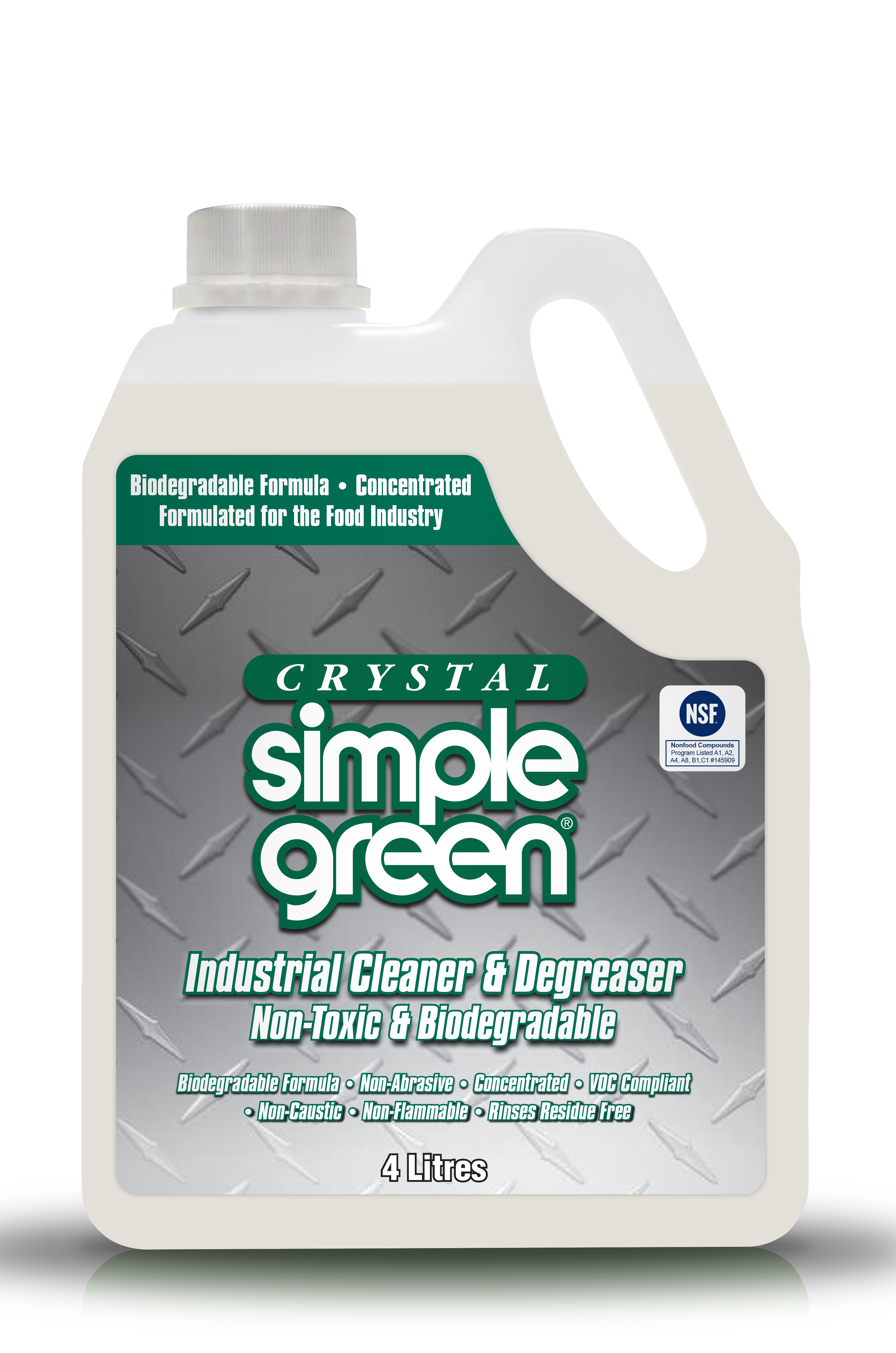 Simple Green Crystal Refill Jug 4L - Pack of 4