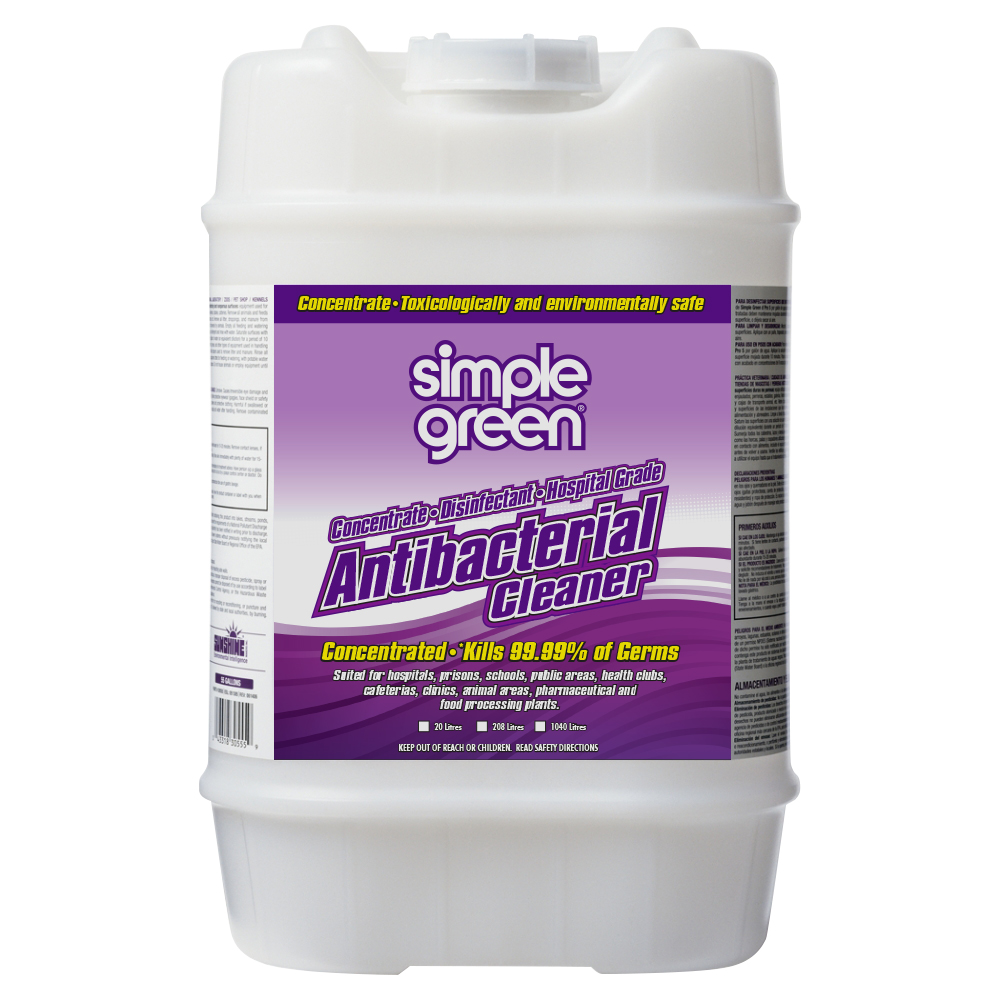 Simple Green Anti Bacterial Hospital Grade Concentrate 20L
