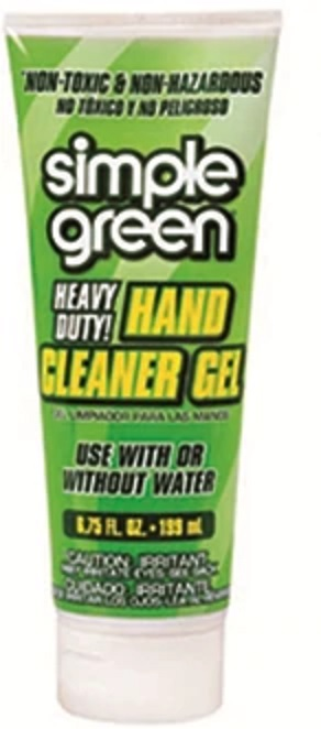 Simple Green Hand Cleaner Gel 199 ml Tube - Pack of 12