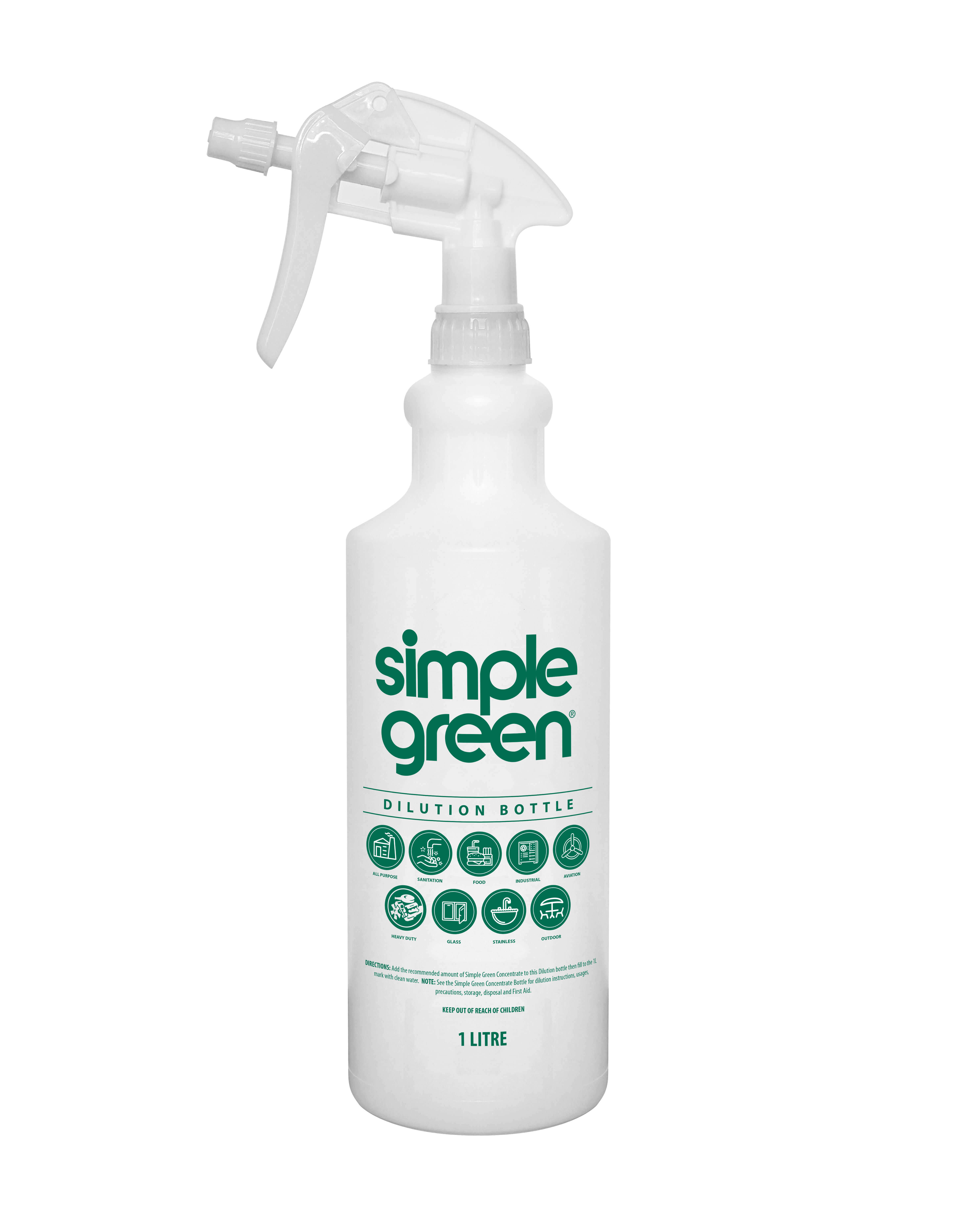 Simple Green  Dilution Bottle 1L - Pack of 12