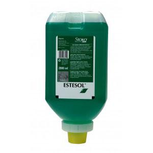 ESTESOL GENERAL HAND CLEANER 2000ML SOFT BOTTLE - GREEN