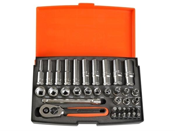 "Bahco 1/4""Dr Deep Socket Set"