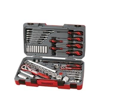 TENG 95PC 1/4 & 1/2IN DR. METRIC GENERAL TOOL KIT
