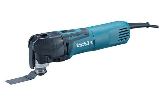 Makita Toolless Multi Tool With 4 Pc Accessory kit