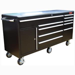 TMX 10 DRAWER 72IN ROLL CABINET W/SIDE CABINET