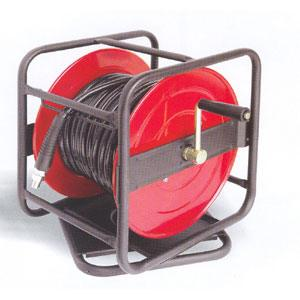 TRADEQUIP  30M MANUAL AIR HOSE REEL W/ROTARY BASE