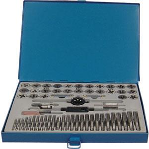 TRADEQUIP  60pc UNC UNF MF MC TAP & DIE SET