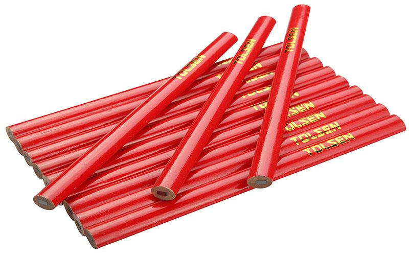 TOLSEN 12 PC PACK CARPENTER PENCIL
