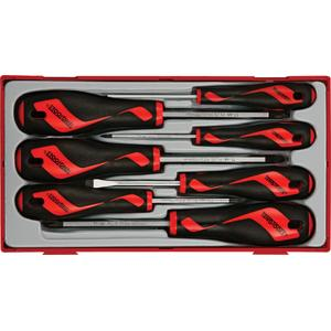 7PC MEGA DRIVE SCREWDRIVER SET TT-MV PLUS TC-TRAY
