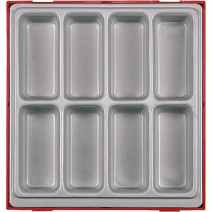 ADD ON COMPARTMENT (8 SPACE) - DBL TC-TRAY