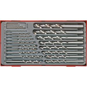 28pc DRILL BIT SET 1-13mm(.05MM)