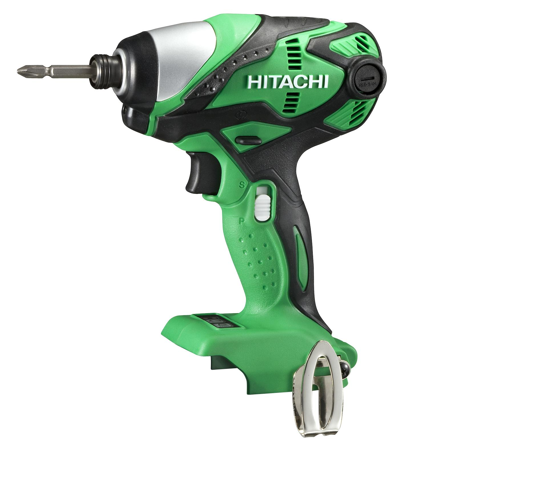 Hitachi Cordless 18V PRO Series Impact Driver - Bare Tool Only