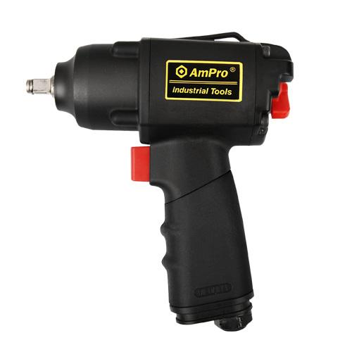 "AmPro 3/8""Dr Air Impact Wrench 280 Ft/Lb"