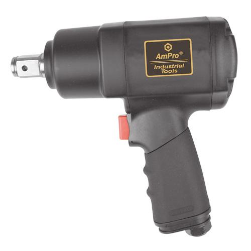 "AmPro 3/4""Dr Air Impact Wrench 1000 Ft/Lb"