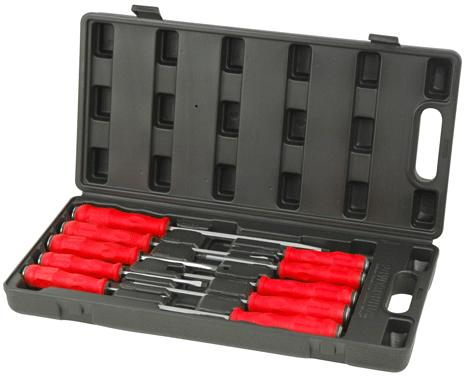 Powerbuilt Screwdriver Go Through Set 10pc