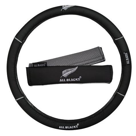 All Blacks Steering wheel cover set